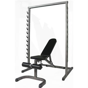 Pasific Ps2201 Squat Rack+Bench Set