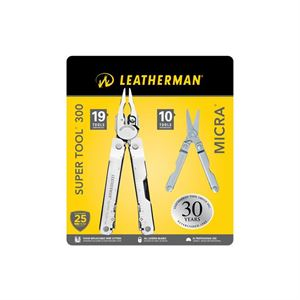 LEATHERMAN SUPER TOOL 300 & MICRA (KUTULU SET)