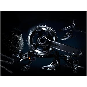 Shimano Grup Set XTR M9050 Dİ2 11-SP FC 170mm 40x30x22T 11-40CS RD+XTR