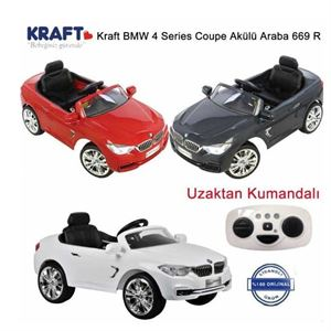 Kraft Bmw 4 Series Coupe 669 R Akülü Araba